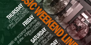 Your 2015 Classic Weekend Lineup