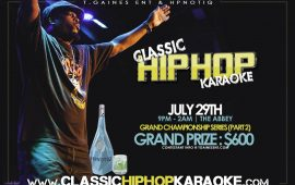 Hip Hop Karaoke Championship Part 2