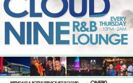 Cloud 9 Guest Appreciate Night