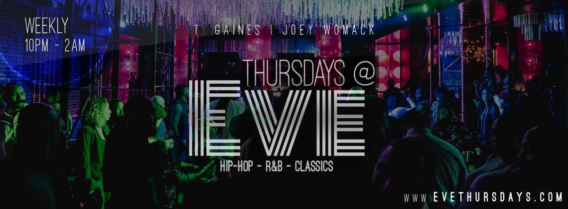 Thursdays at Eve