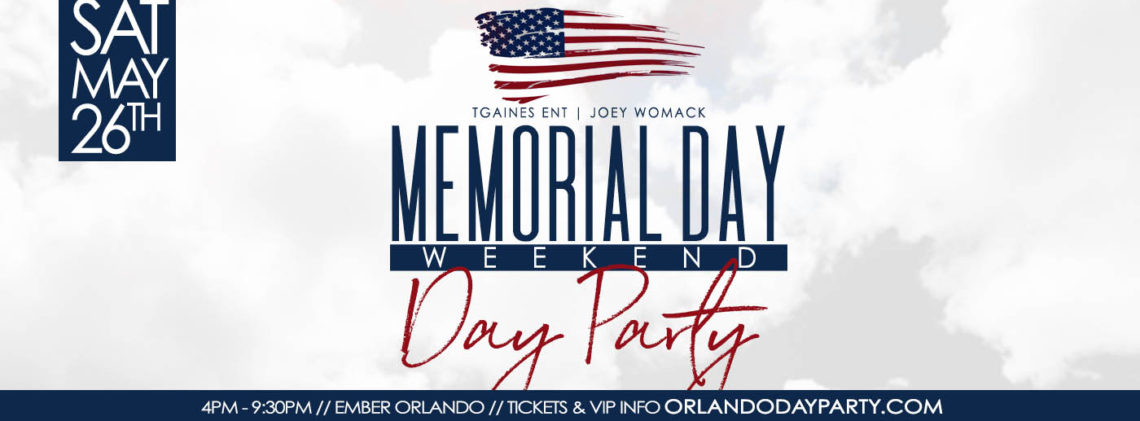 Memorial Weekend Day Party