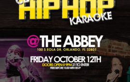 Hip Hop Karaoke October 12th