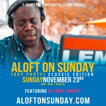 Sundays at aloft - The Mimosa Lounge
