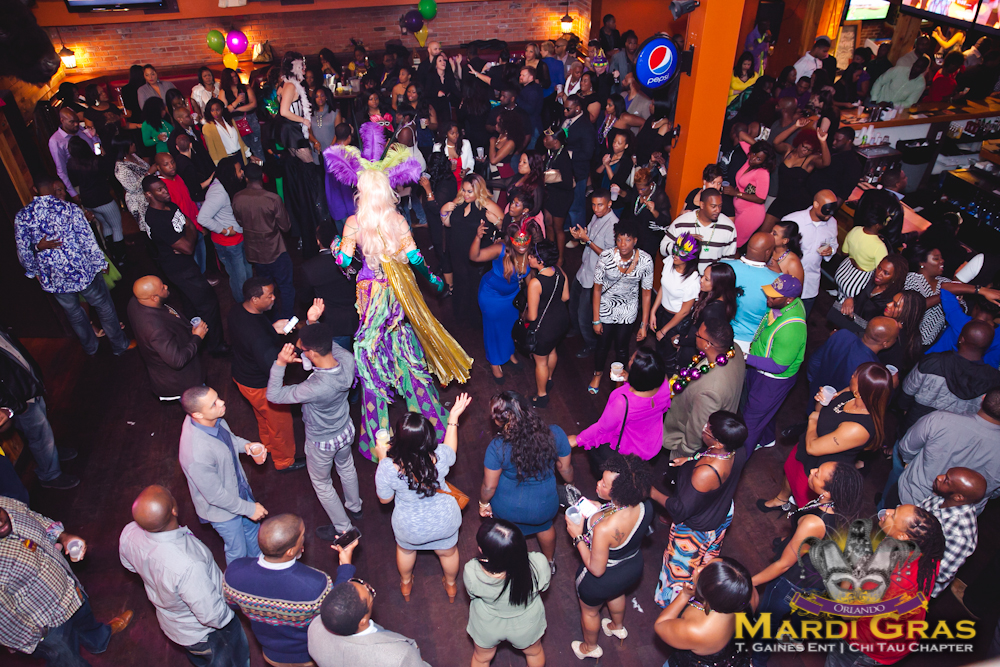 Orlando Mardi Gras 2015 : Powered by T.Gaines Ent & Omega Psi Phi