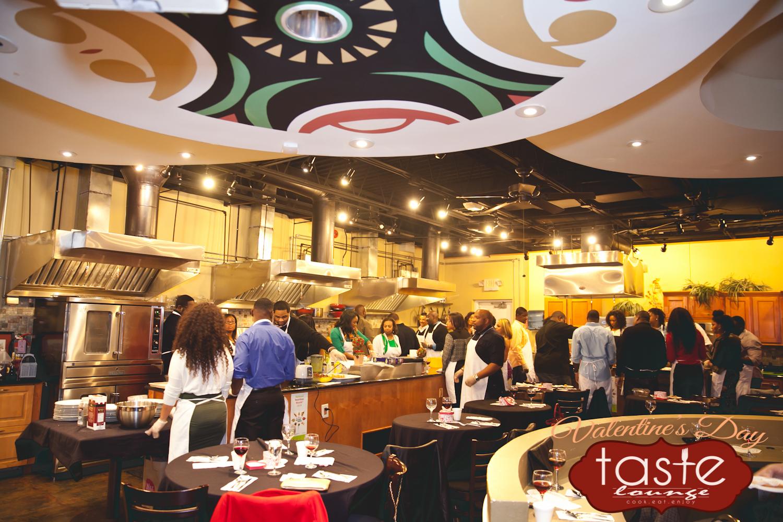 T. Gaines Ent. Valentine's Day Taste Lounge
