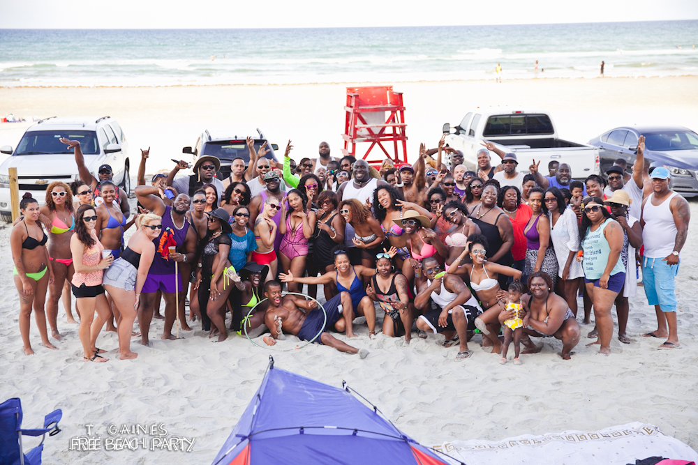 2015 T. Gaines Free Beach Party