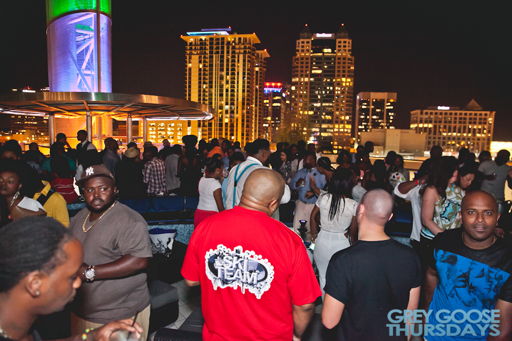 Thursdays at ONE80 Grey Goose Lounge 7.16.15    T. Gaines Ent. & Joey Digital