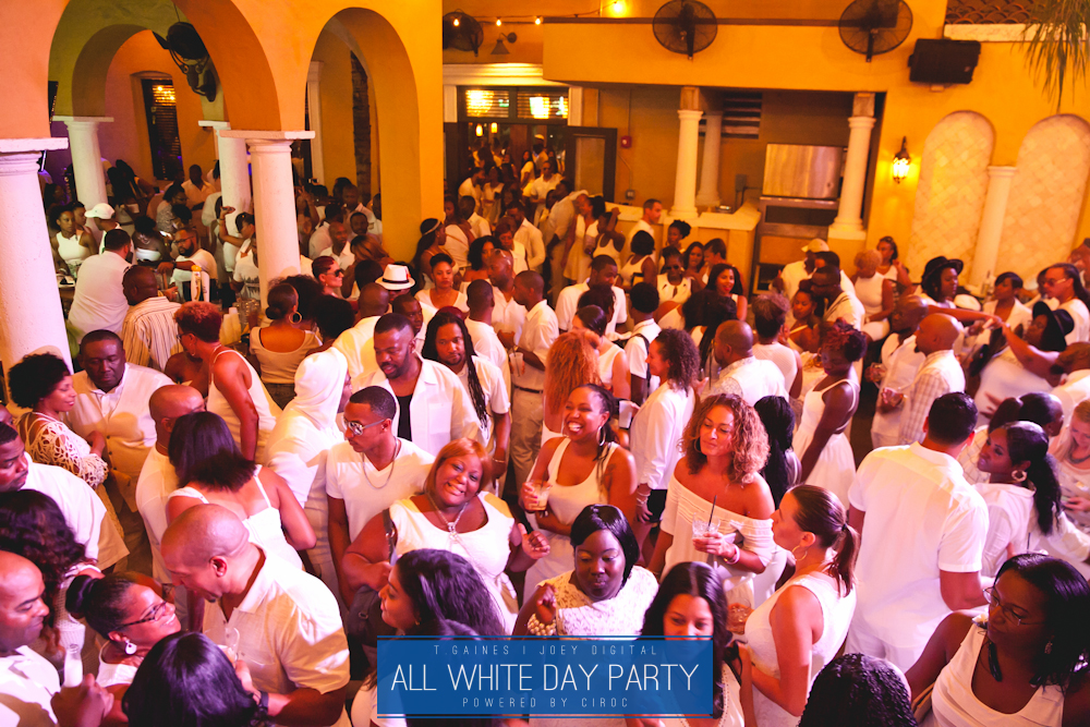 The All White Day Party Powered by Ciroc Ultra Premium Vodka | Brought to you by T. Gaines & Joey Digital
