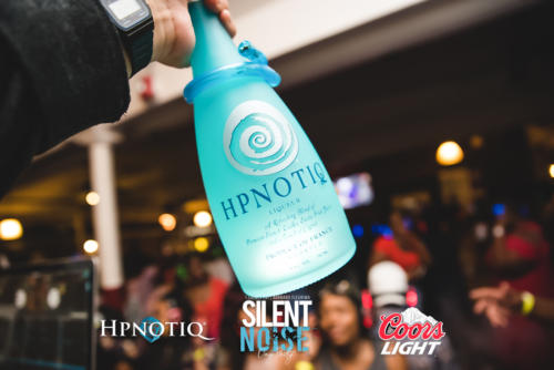 Silent Noise Silent Headphone Party | Sponsored by Hpnotiq