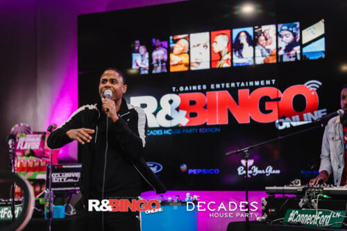 R&Bingo Online - The Decades House Party Edition