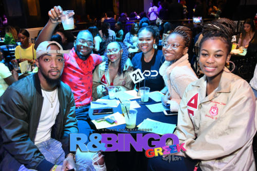 "TGaines Ent | R&Bingo ""Greek Edition"""